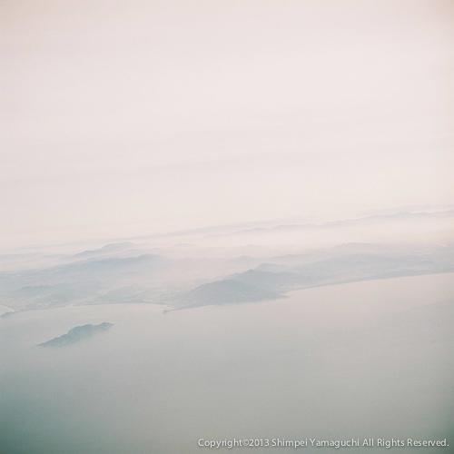 北九州上空
