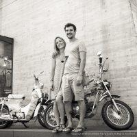 スペインの新婚ご夫婦
